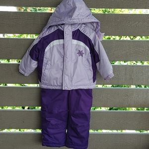 Athletic Works Toddler girls winter suit 2